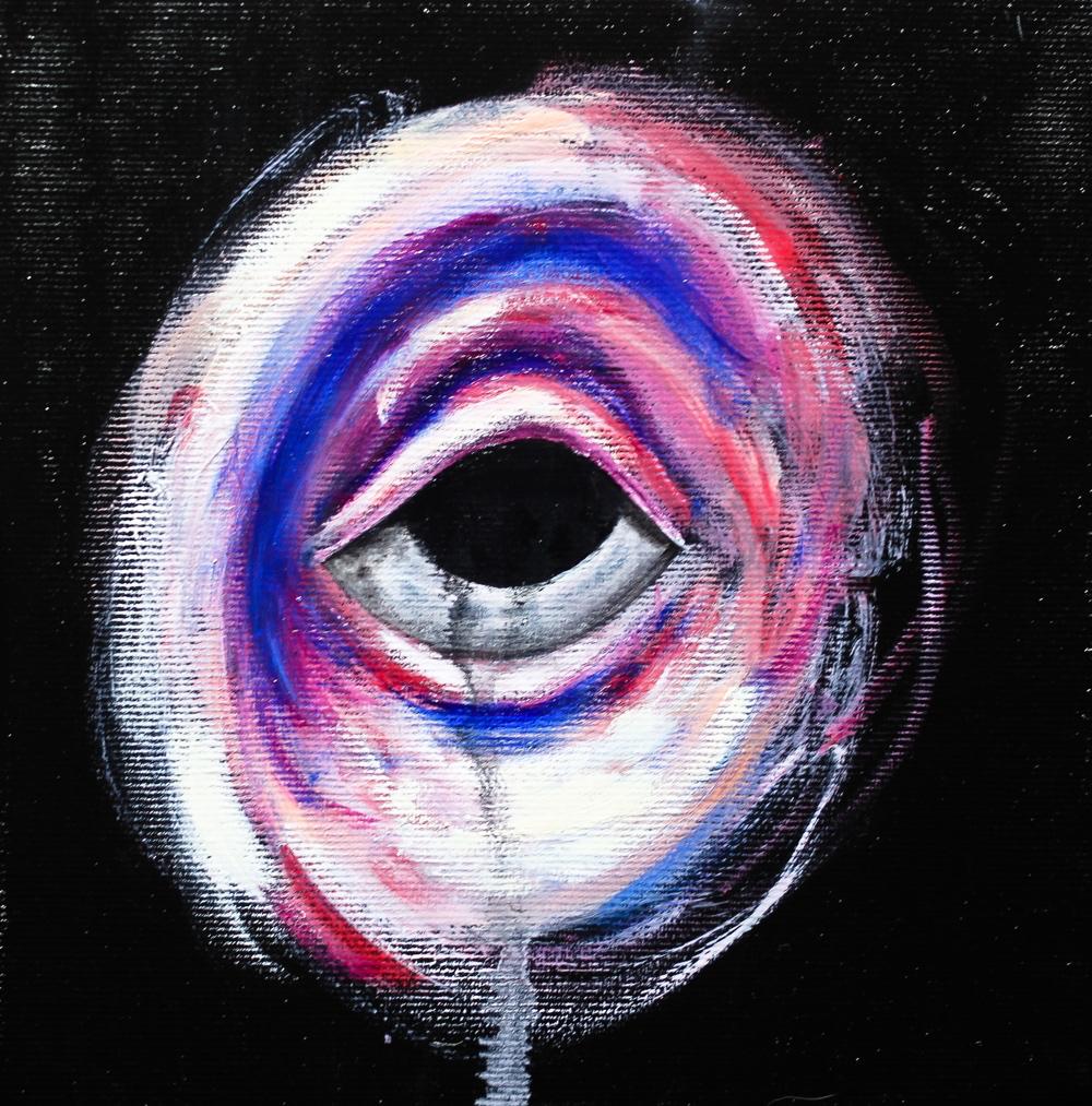 Eyes #3 by Hugo Baudouin