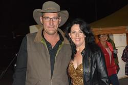 Glen with Tanya Kernaghan