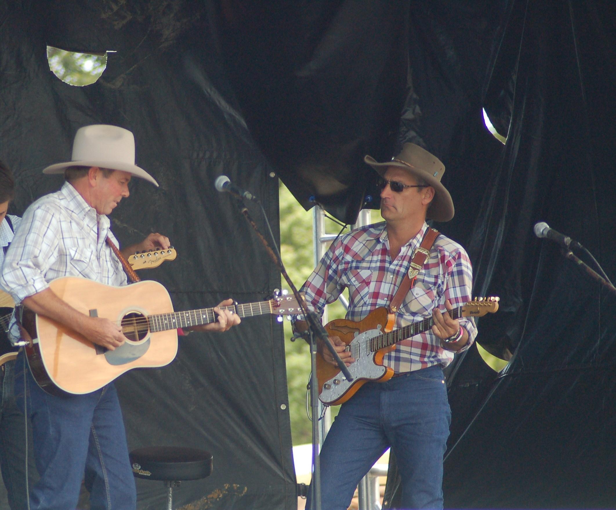 Dean Perrett and Glen Albrecht