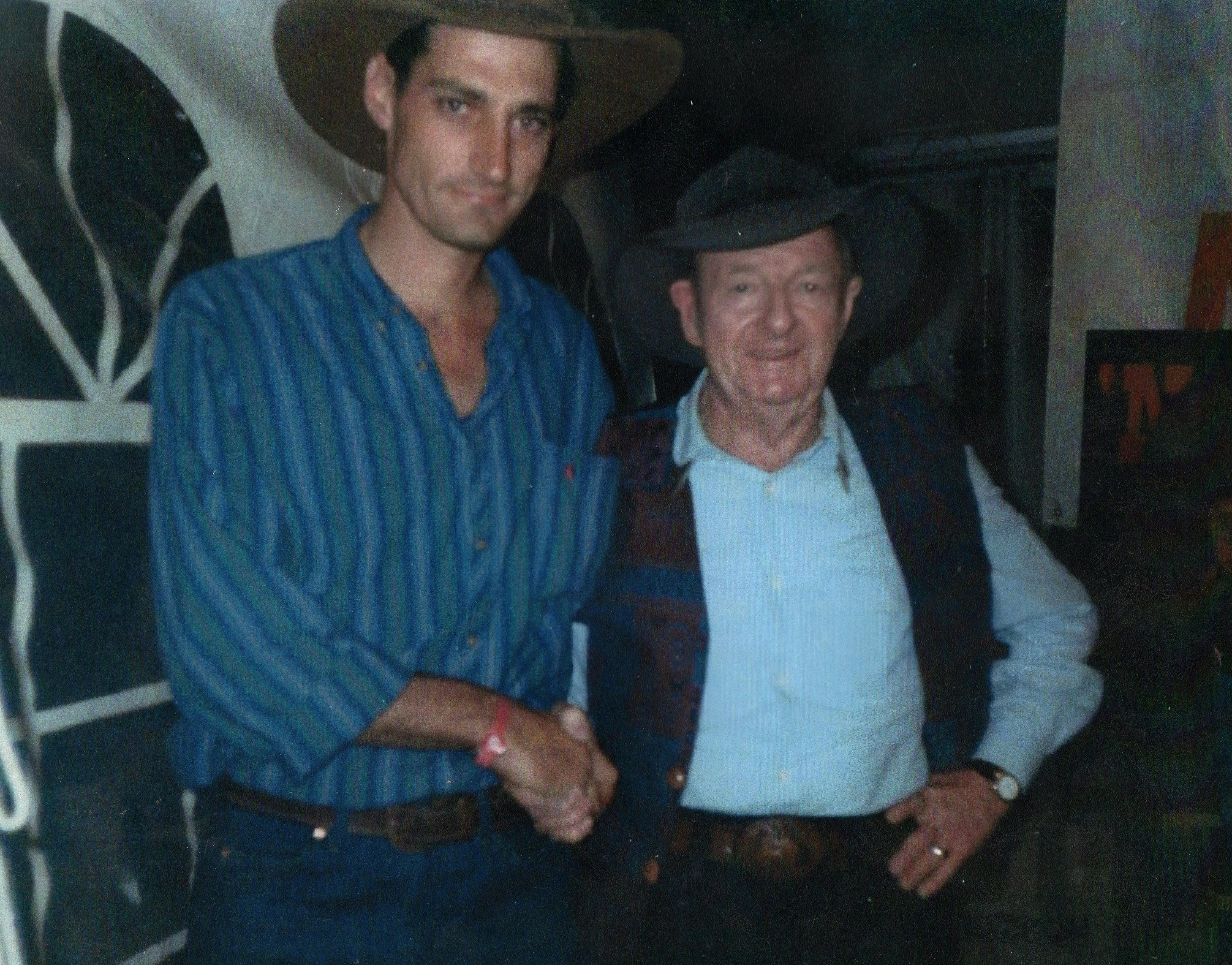Glen and Slim Dusty