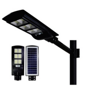 Luminaria con Panel Solar