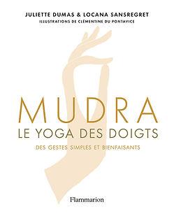 Livre Mudra le yoga des doigts par Julie