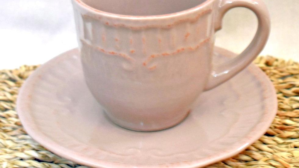 Juego de tazas (6) provenzal toscano
