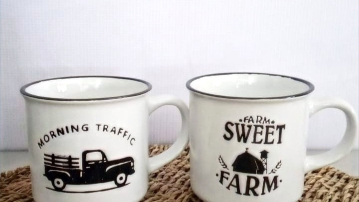 "Tazón ""Morning Traffic/Sweet Farm""(surtidos)"