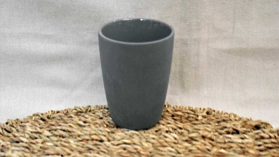 Vaso liso gris