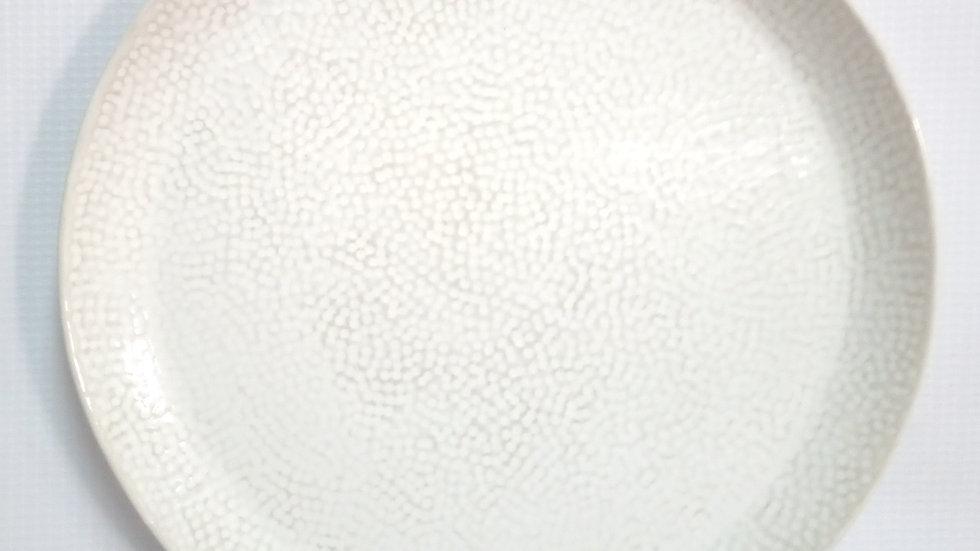 Plato de pan punteado para horno