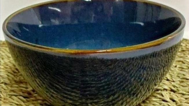 Bowl nórdico azul acero(detalle fabricación)