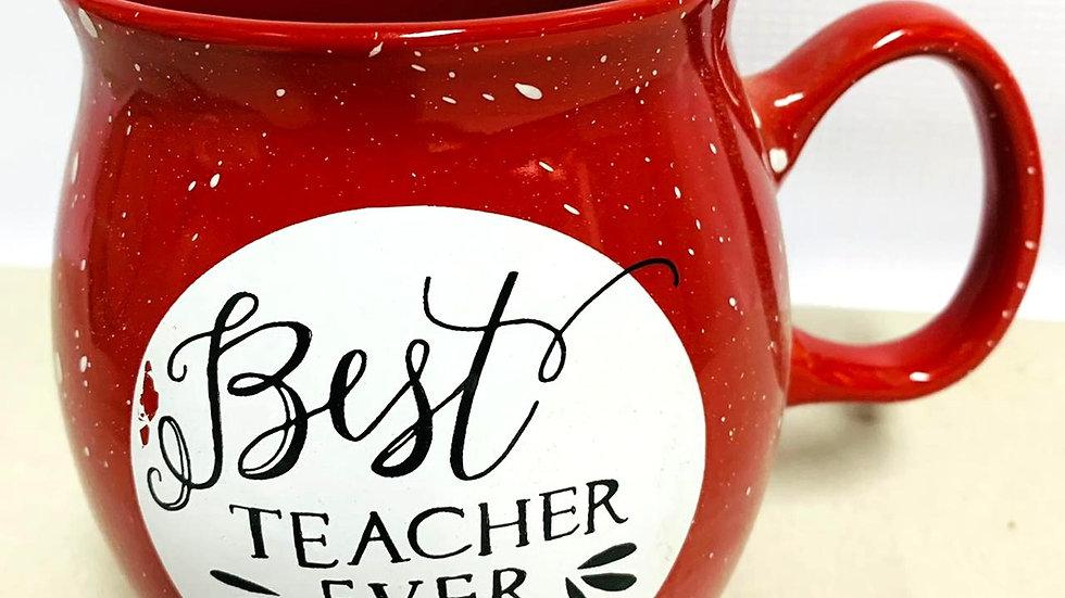 """Tazón """"Best teacher ever"""""""
