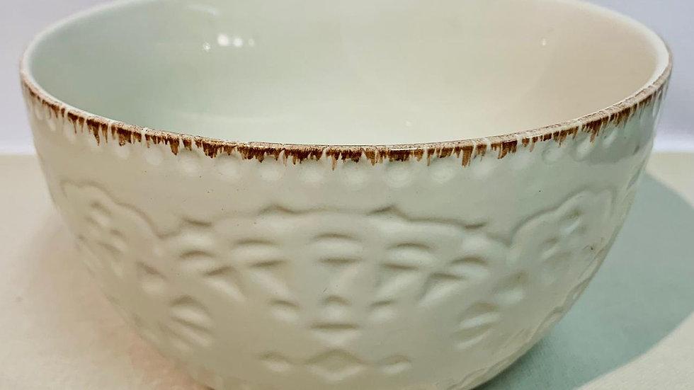 Bowl piqué blanco