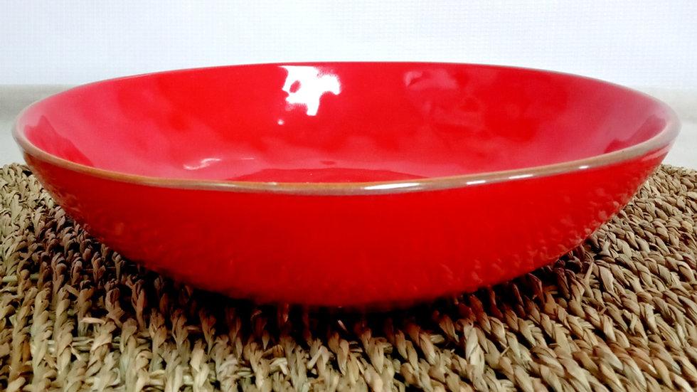 Bowl nórdico borde dorado envejecido(detalle fabricación)