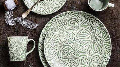 Set Turkish hojas (4 piezas)