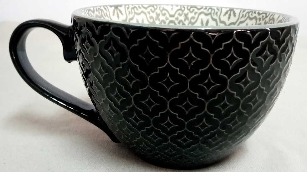 Mug negro/gris