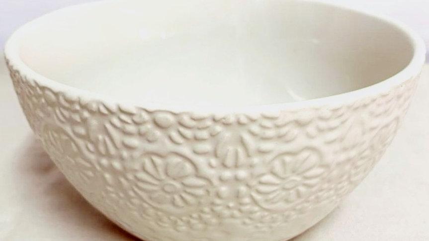 Bowl floral clásico