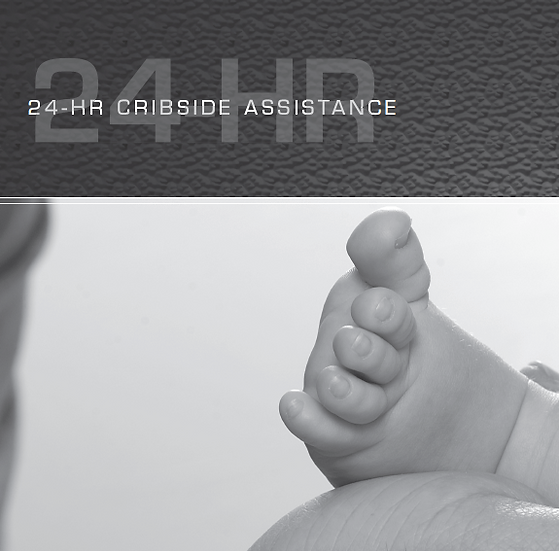 24 Cribside Assistance for New Dads