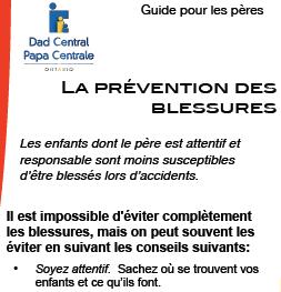 La prévention des blessures