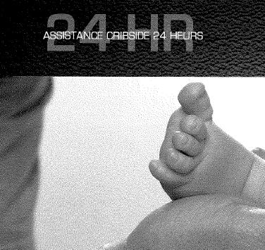 Assistance cribside 24 heures