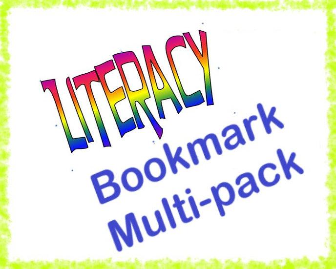 Literacy Bookmark Multi-pack