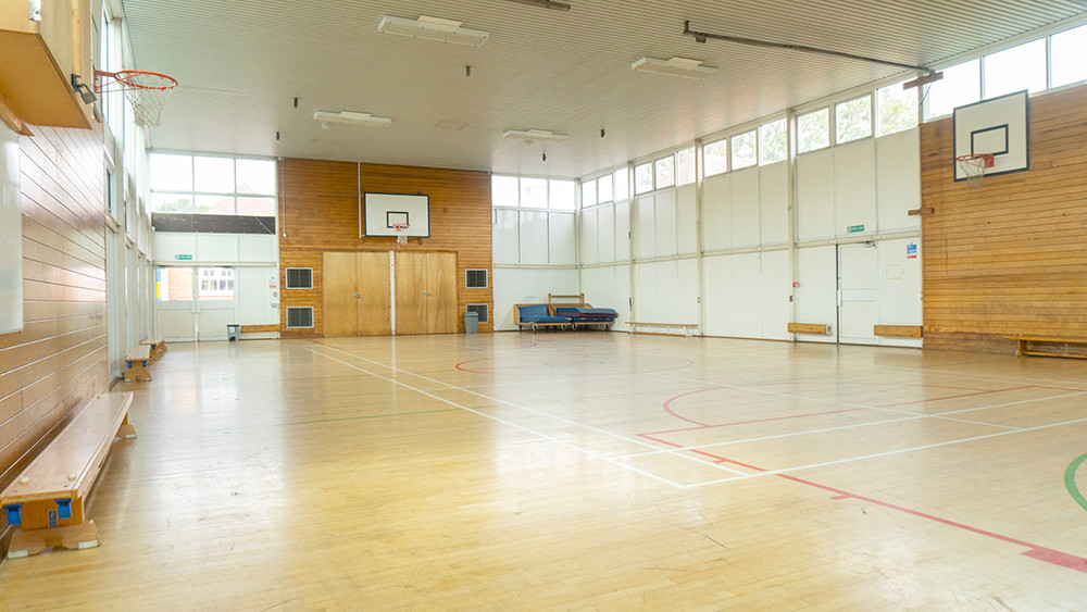 Multi-use indoor gym