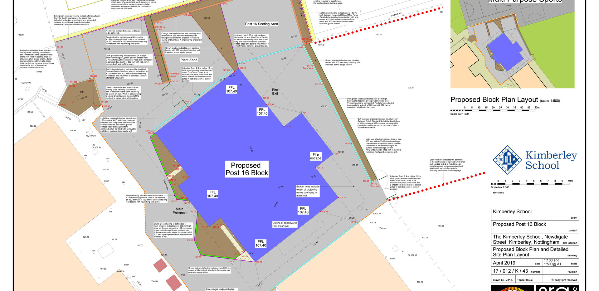 43_Proposed Block Plan and Detailed Site