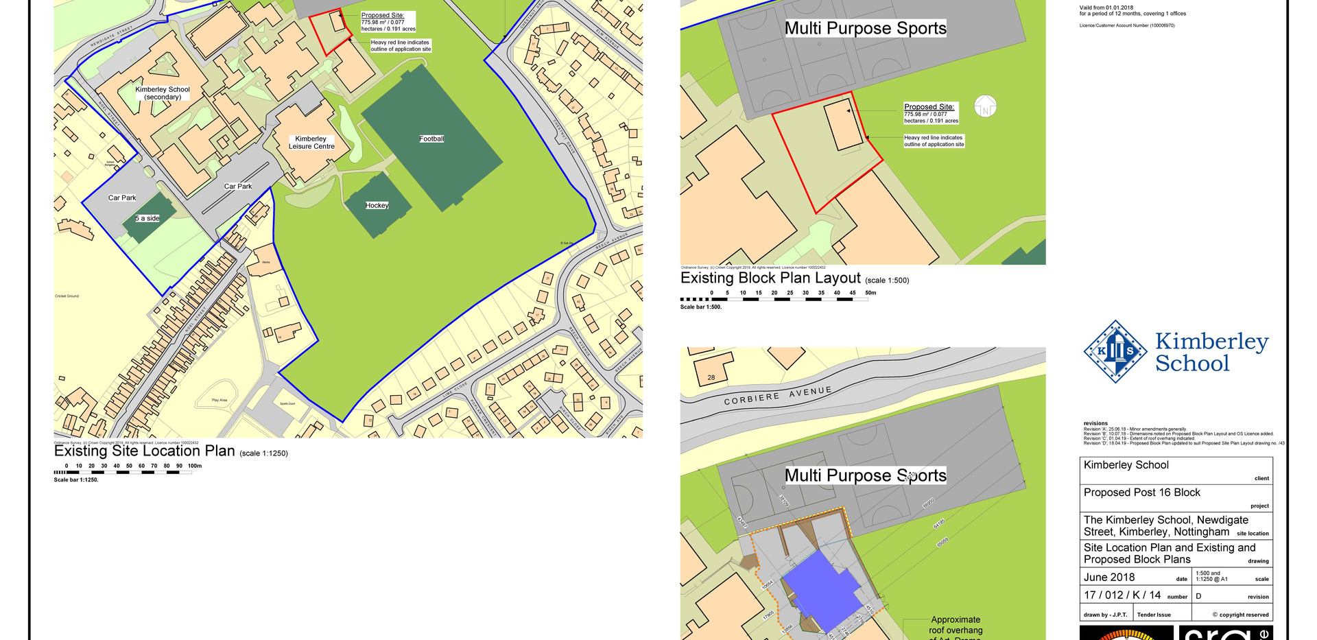 14D_Site Location Plan and Existing and