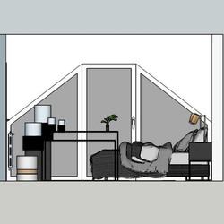 3D chambre parentale à Verviers