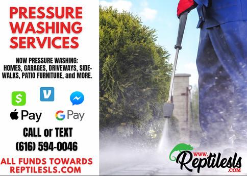 Pressure Washing Services