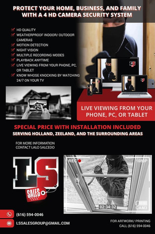 Home/ Business Security System with Installation