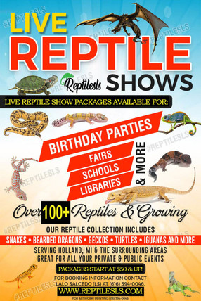 Live Reptile Shows and More