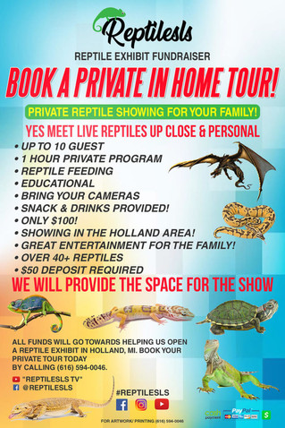 Private Reptile Shows