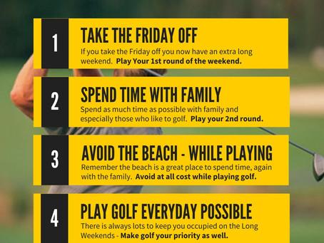 Long Weekend Golf