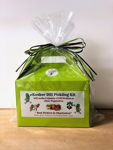 E-Z Kosher Dill Pickle Kit