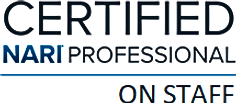 NARI certified_professional on staff