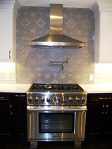 """36"""" stainless steel professional gas range"""