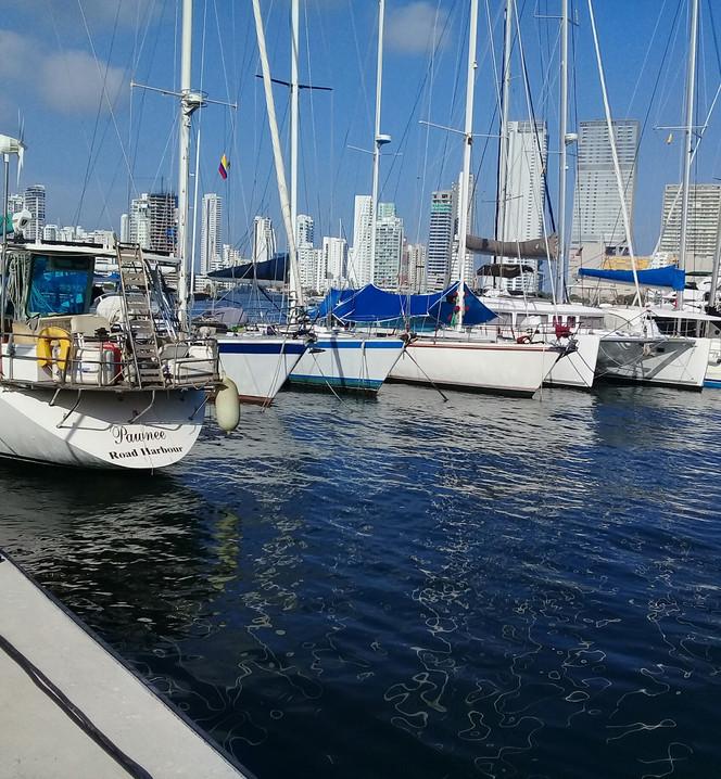 80 FT Dynamique sail. 140,000 miles under keel