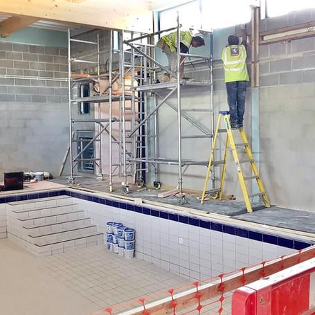 Swimming Pool Refurbishment, Surbiton