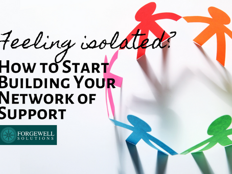 Feeling isolated? How to Start Building Your Network of Support with Cyllene Saintelien, PMHNP-BC