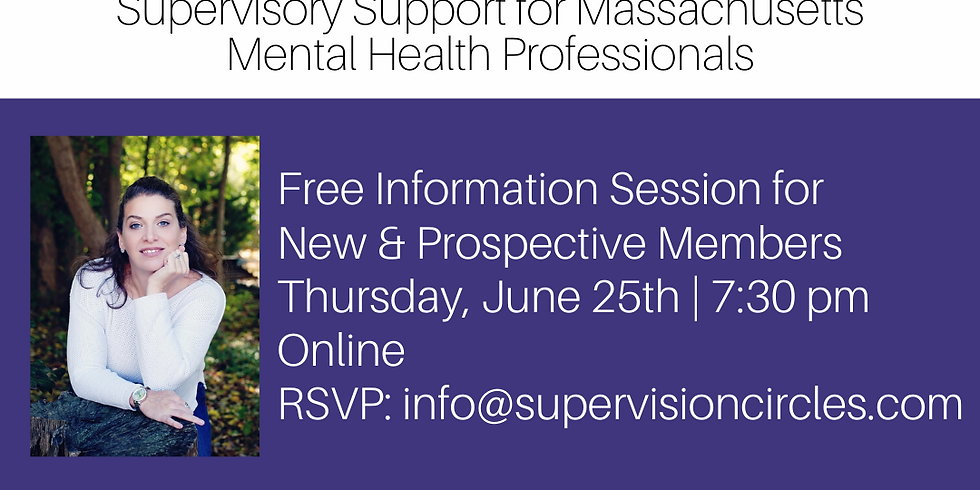 Free Information Session for New & Prospective Members