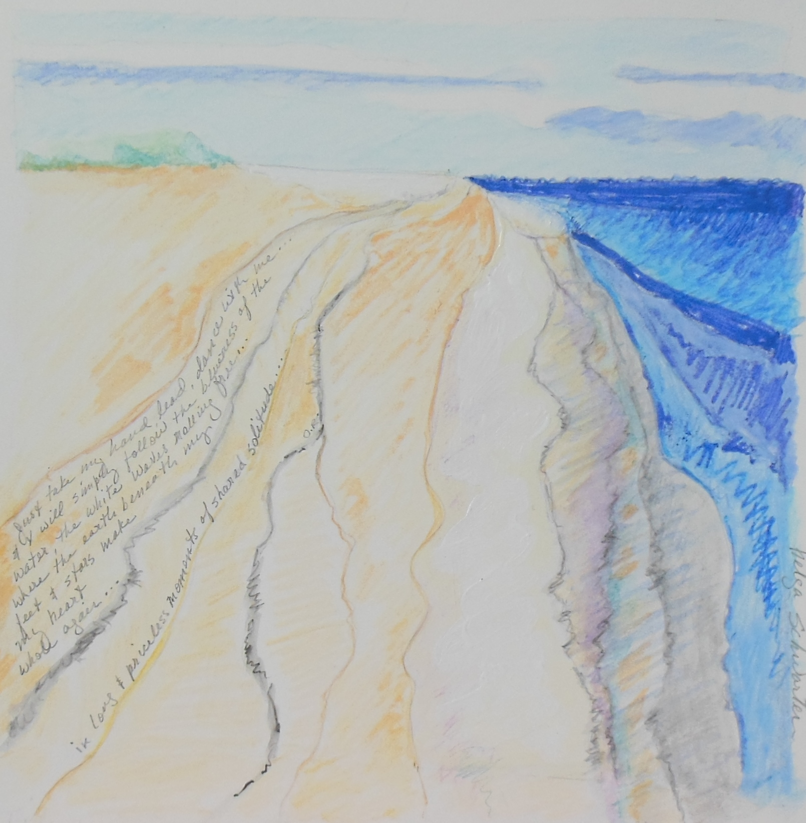 Seabrook Beach - Shared Solitude