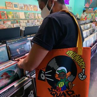 KIX SQUAD RECORD BAG