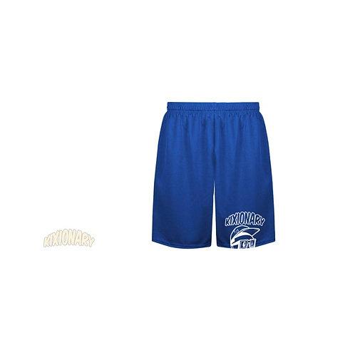 SUNSET PARK B-BALL SHORTS BLUE