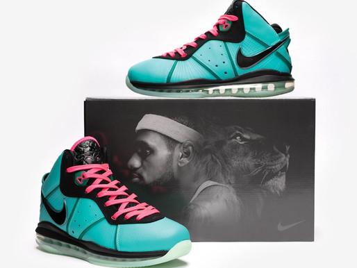 "The Nike LeBron 8 ""South Beach"" Returns."