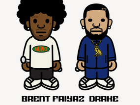 """Brent Faiyaz and Drake on New Neptunes-Produced Song """"Wasting Time"""""""