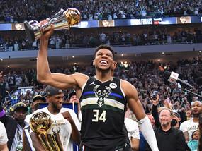 GIANNIS' NBA FINALS WIN
