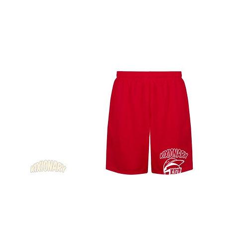 SUNSET PARK B-BALL SHORTS RED