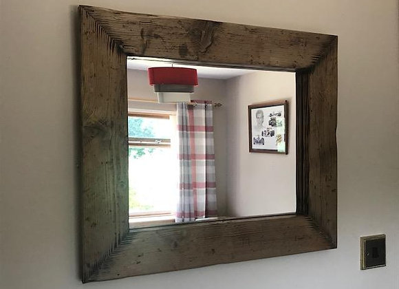 Medium Mitered Wall Mirror
