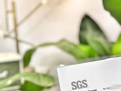 取得SGS國際品質認證