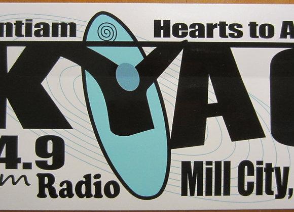 KYAC Bumper Sticker