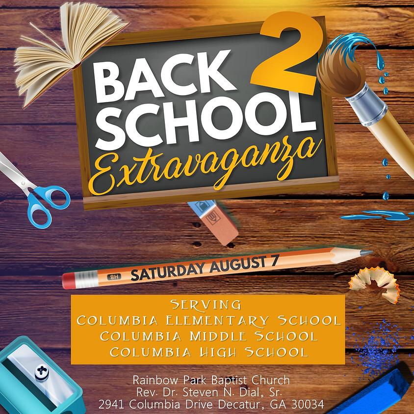 """Columbia Schools & """"The Park"""" Back To School Extravaganza"""