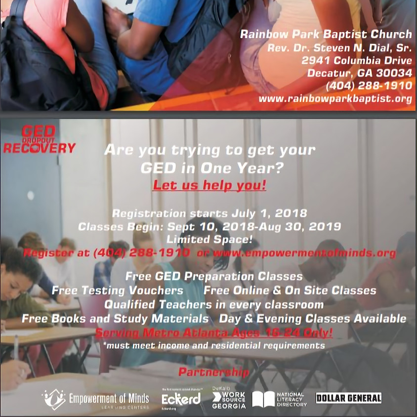 GED Dropout Recovery