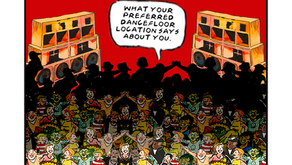 Meet front left: What your preferred dancefloor location says about you.